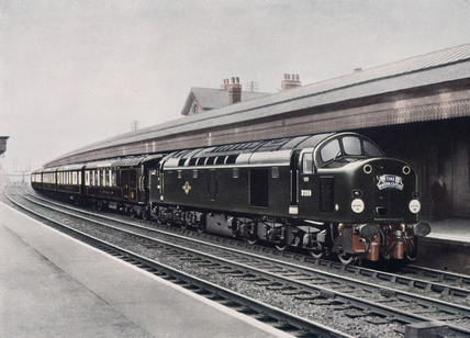 The Master Cutler' diesel-electric locomotive, c 1958.