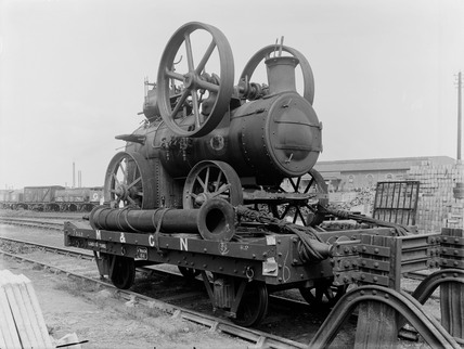 M&GNJR, Goods Wagon number 164, 1920, perspective view