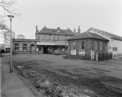Berwick upon Tweed Station, 7th January 1963