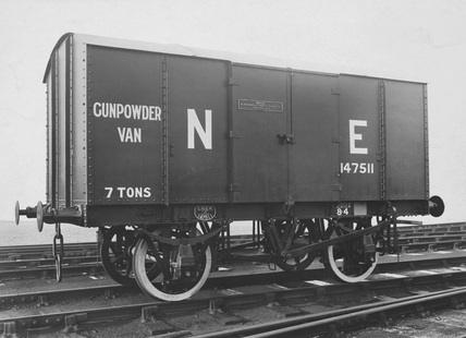 LNER Gunpowder Van