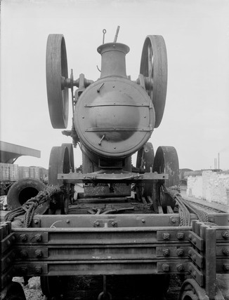 M&GNJR Goods Wagon number 164, 1920, front view