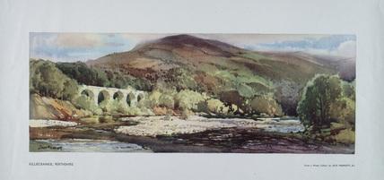 Killiecrankie, Perthshire. Carriage print.