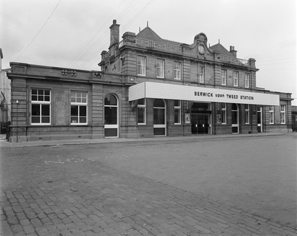 Berwick upon Tweed Station, 4th May 1964