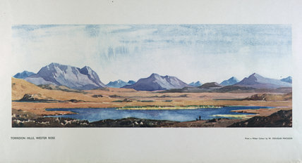 'Torridon hills' by William Douglas Macleod.