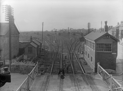 GWR Porthcawl New Station, c.1915.
