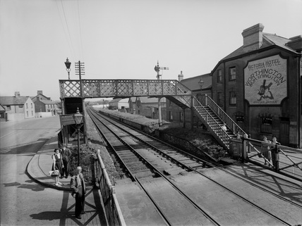 Branch Doubling and Porthcawl Station Reconstruction.