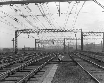 Penistone railway station. England.