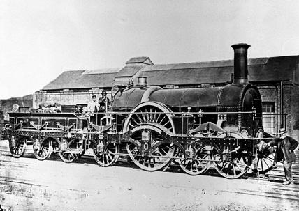 Dulverton Station, 1953.