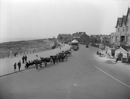 Esplanade and Sands. Porthcawl & District, 1927.