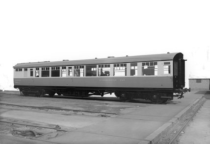 British Railway Eastern Region Dynamometer Car, 1953.