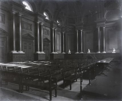 Shareholders Halfyearly Meeting Room. Euston, 1897.