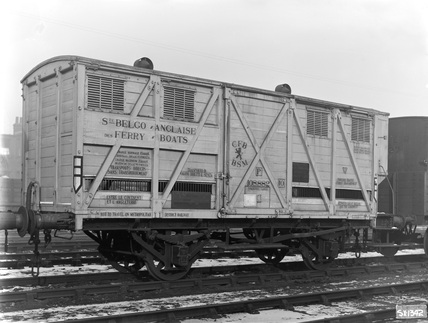 Belgium Fruit and Vegetables Ferry Wagon 15-20T. Temple Mills, England, 1932.
