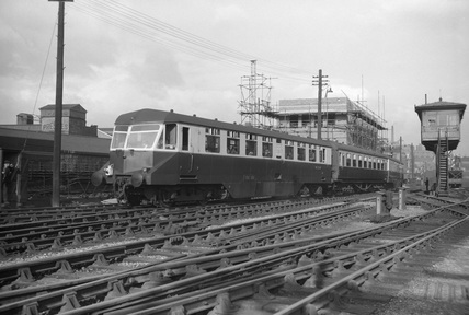 Birmingham Snow Hill, 1954.