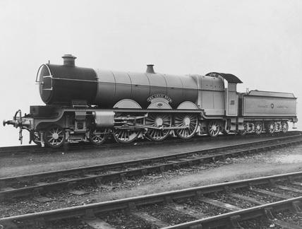 The Great Bear Locomotive. England.