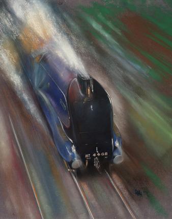 The Mallard at Speed, by Roy Wilson.