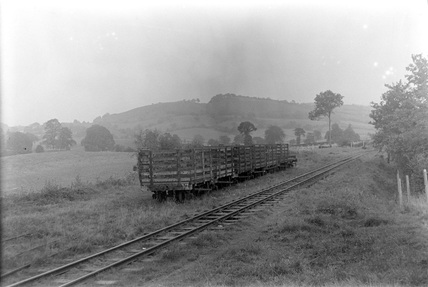 Welshpool and Llanfair Railway. Wales, UK.