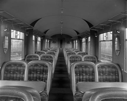 LNER, third calss turist car. York, England.