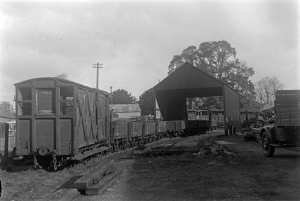 Welshpool and Llanfair Railway. Welshpool, UK.
