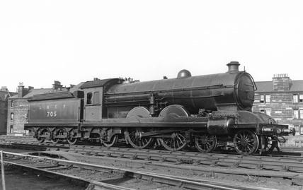 Locomotive number 705, LNER 4-4-2. Gorgie Junction, UK, 1926.
