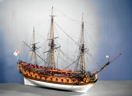 50-gun ship of the Establishment of 1733, 1736-1742.
