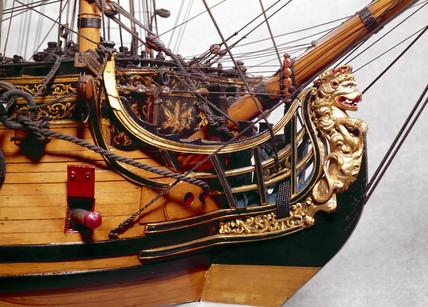 50-gun ship of the Establishment of 1733, 1736-1742.