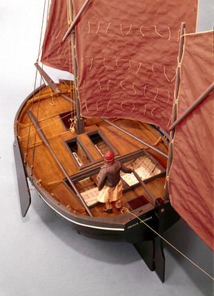 Brighton hog-boat 'The Prince George', 1797.
