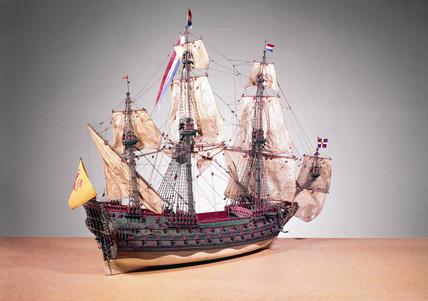 Dutch warship, c 1660.