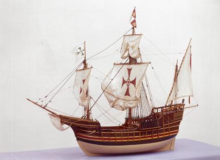Columbus' 'Santa Maria', 1492.