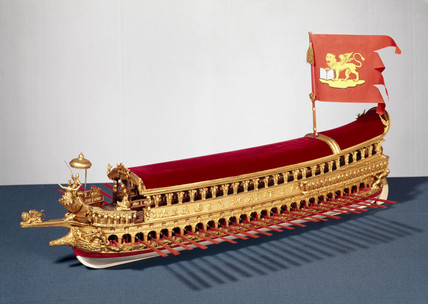 State barge if the Doge of Venice, 1728.
