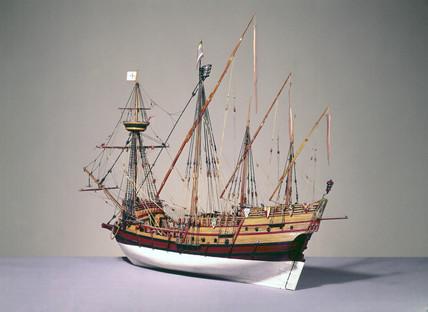 Portuguese caravela, c 1535.