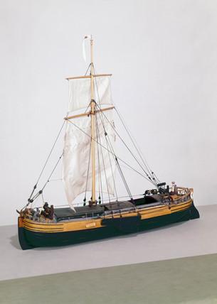 Humber keel, 19th century.