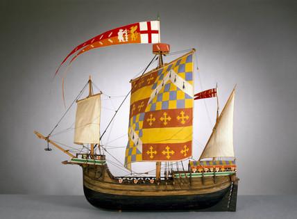 English ship, c 1485.