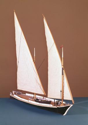 Barque du Leman, 19th century.