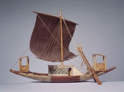 Egyptian ship, c 1300 BC.
