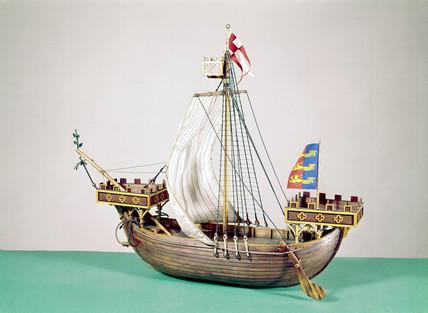 Ship of the Cinque Ports, c 1284.