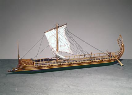 Greek trireme, c 480 BC.