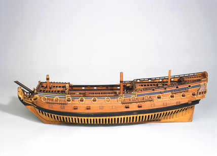 HMS 'Exeter', 1697.