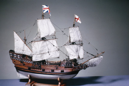 The 'Mayflower', 1620.