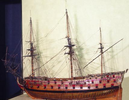 60-gun ship, 1689-1705.