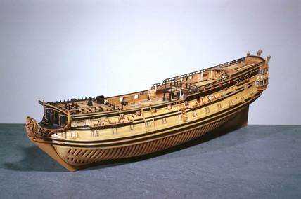 HMS 'Captain', 1708.