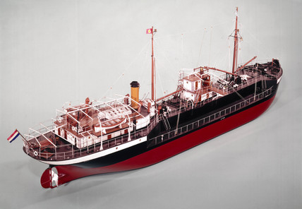 Model of MS Vulcanus, 1910 (credit: Science Museum / Science & Society)