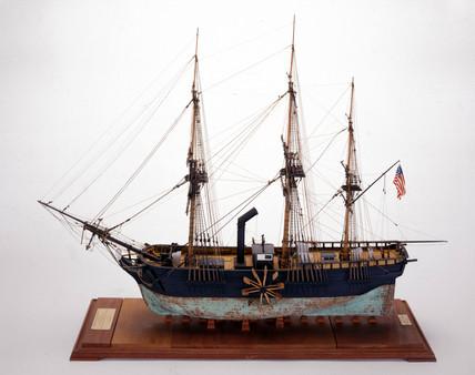 PS 'Savannah', 1818.