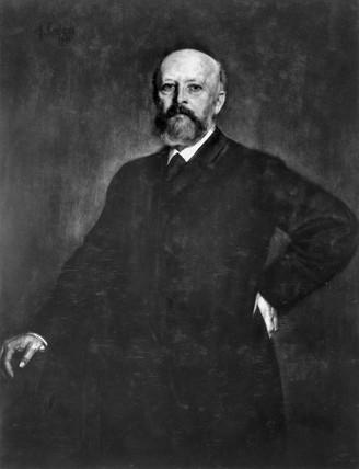 Adolf von Baeyer, German organic chemist, late 19th century.
