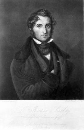 Baron Justus Von Liebig, German chemist, 1843.