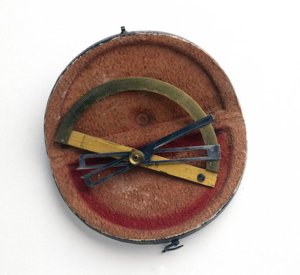 Contact goniometer, 1830.