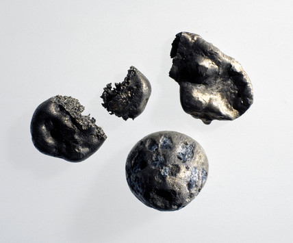 Samples of cobalt, c 1890.