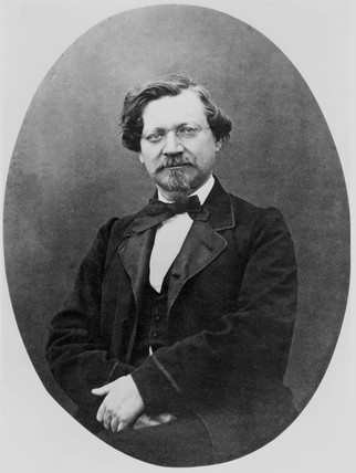 August Wilhelm von Hofmann, German organic chemist, late 19th century.