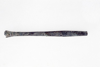 Bronze chisel, c 1370 BC.
