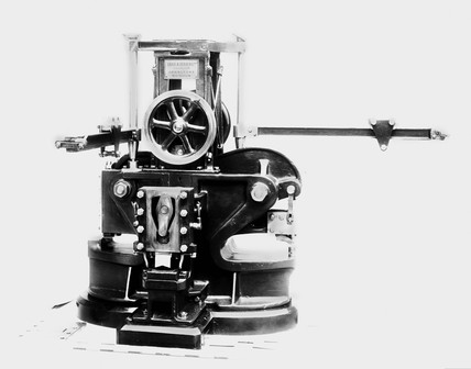 Stamping machine, 1906.