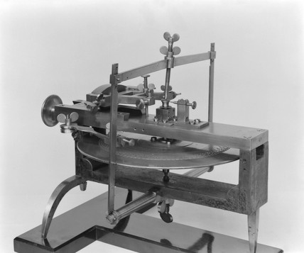 Wheel cutting engine, 18th century.